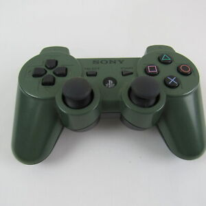 Genuine Sony PlayStation 3 PS3 Sixaxis DualShock 3 Controller - Jungle Green OEM