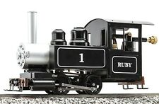 Accucraft AC77-010 Ruby #1, Black, Live-Steam - for Beginners (Einsteigermodell)