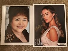 The Bold and the Beautiful Tote Autographed Photos Patrika Darbo Katrina Bowden
