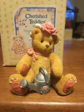 Cherished Teddies retired NIB. Rose Everything's Coming Up Roses. 202886 1996