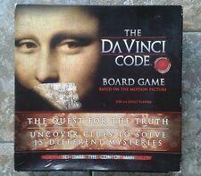 Il Da Vinci Codice BOARD GAME COMPLETO OTTIMO