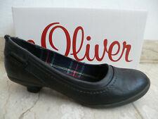 S.Oliver Women's Pumps Ballerina Slippers Black 22300 New