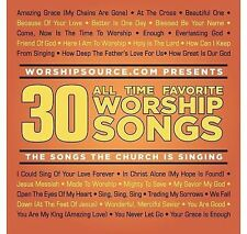 30 All Time Favorite Worship Songs by Various Artists    CD  LIKE NEW  DB1950