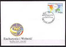 POLAND 1997 FDC SC#3340 46th Eucharistic Congress