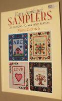 Easy Aplique Samples- (2005,PB) By Mimi Dietrich