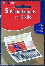 Hangboekje 72c-B 5 Pakketzegels 72c 5  kg emissie 2002 * ZEER LASTIG MATERIAAL