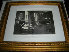 Photo Pastor Russell in study 1910 Watchtower IBSA Jehovah