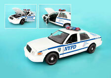 NEW York Police Department 1:24 NYPD MODELLO DI AUTO FORD Crown Victoria 1/24 Daron