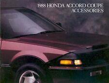 1988 Honda Accord Coupe Accessories Brochure mx2537-MSQX5K