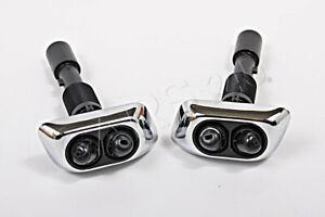 BMW 7er E38 1994-2001 Original chrom Waschdüse Spritzdüse Scheinwerfer Satz