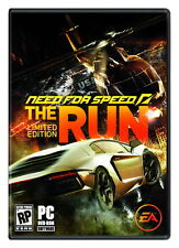 NEW*SEALED PC GAME NFS THE RUN LIMITED EDITION (PC)(DVD) FACTORY SEALED