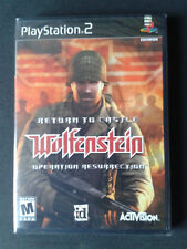 PS2 Return to Castle Wolfenstein: Operation Resurrection US - NEUF/ NEW SEALED