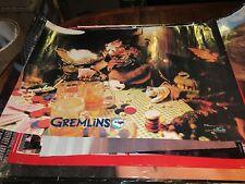 """GREMLINS , POSTER , 1984 , 32"""" X 22"""" , Warner Brothers"""