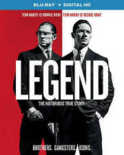 LEGEND (2016) BLU-RAY TOM HARDY USED VERY GOOD