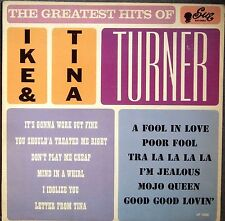 "IKE & TINA TURNER~""THE GREATEST HITS""~U.S.ORIG SUE LABEL1038 ""VG+/VG+""~LP!!!"