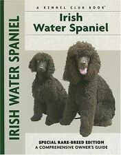 Owner's Guide Irish Water Spaniel Bowtie Puppy Dog Hardcover Illustrate Book New