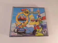 Simpsons Hit & Run PC Video Game 2003 Jewel Case 3 Discs