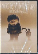 Where the Wild Things Are (DVD, 2010, Canadian, Widescreen) BRAND NEW