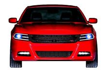 for Dodge Charger 15-19 Blue LED Halo kit for Headlights