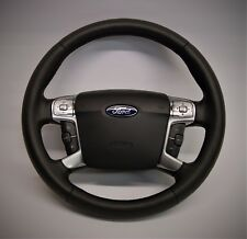 Ford Mondeo   - steering wheel RETRIMMING SERVICE genuine alcantara/leather