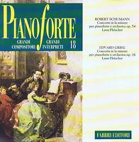 Pianoforte Nr.18 CD Fabbri Editori 1994 ( Robert Schumann, Edvard Grieg )