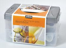 Pebeo Vitrail Vitrea V160 peinture atelier travail Box Set 10 x 45 ml