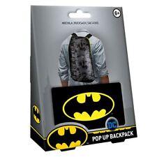 DC Comics Batman Pop up Backpack Official Fold out Rucksack Bag