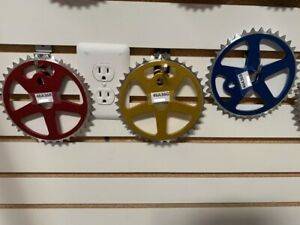 """Bicycle Chainring Sprocket 36T X 1/2"""" X 1/8"""" Red Blue Gold Lowrider BMX Bikes"""