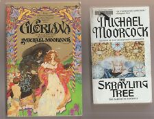 MICHAEL MOORCOCK GLORIANA + THE SKRAYLING TREE Reading Copies Albino in America