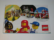 VINTAGE LEGO 1986 CATALOG FOLDER 'MINILAND' DUTCH