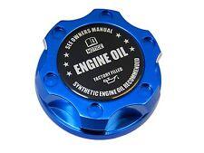 BLUE SYNTHETIC BILLET RACING ENGINE OIL FILLER CAP FIAT 500 / DODGE DART BK