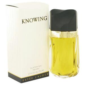 Estee Lauder Knowing Eau De Parfum Vaporisateur 75ml NEUF SOUS BLISTER