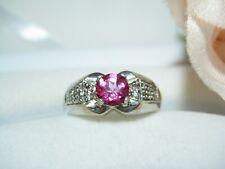 Fingerring Morganite Ring Schmuck 925 Silber  19,7 mm