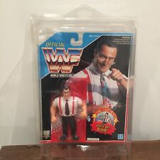 WWF/WWE IRS Vintage Hasbro Action Figure 1993 Series 5 MOC with case
