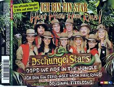 DSCHUNGEL STARS : OOPS - WE ARE IN THE JUNGLE - ICH BIN EIN STAR... / 7 TRACK-CD