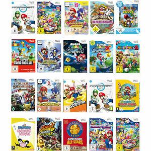 Nintendo Wii alle Mario Spiele , Auswahl Mario Kart Bros Party 8,9