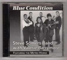 (GZ162) Steve Somers Band, Blue Condition - 1998 CD