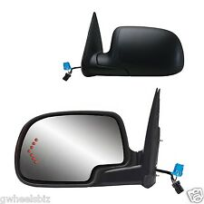 2003-2006 SIERRA / YUKON POWER HEATED ARROW TURN SIGNAL VIEW SIDE MIRROR (PAIR)