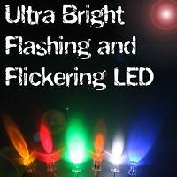 ultra luminoso lampeggiante/tremolante LED 3mm/5Mm/8mm/10mm multicolore