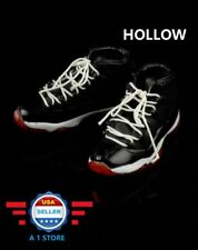 "CUSTOM 1/6 scale Sneakers Shoes HOLLOW for 12"" Male Figure PHICEN Hot Toys"