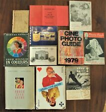 lot documents techniques sur la photographie vintage