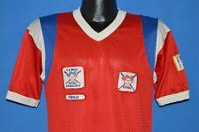 vintage 80s BOBBY SOX SOFTBALL GRADUATE RED WHITE BLUE JERSEY t-shirt MEDIUM M