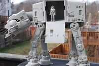 VINTAGE Star Wars COMPLETE AT-AT WALKER + ACTION FIGURE KENNER WORKS! Hoth