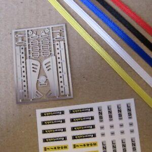 TREMONIA Universal tuning Gurt set IV  Harnes Belt Set IV 1/18 blue / blau