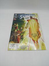 Superman Year #40 Signed & Drawing by writer/cover artist John Romita Jr