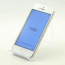 Apple iPhone 5s - 16GB - Silver Smartphone [Z3] #BX