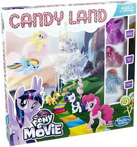 Brand New! Candy Land Board Game: My Little Pony The Movie Edition *Sealed*