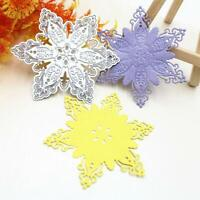 Snowflake Cutting Dies Stencil Scrapbook Embossing Album Paper Card Craft Decor