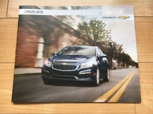 Chevrolet Cruze 2015 Original Dealer Sales Brochure