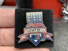 1997 MLB Cleveland Indians Iconic All Star Game Stunning Design Press Pin.